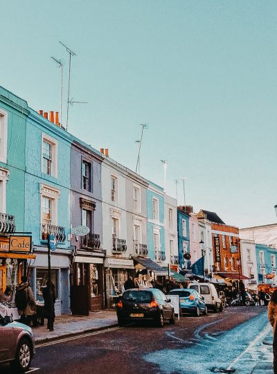 portobello road in notting hill london