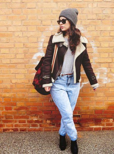 FASHION VIBES 005 | Red Plaid + Mom Jeans