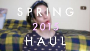 VIDEO | Spring 2015 Haul (Forever 21, Asos, Nike)