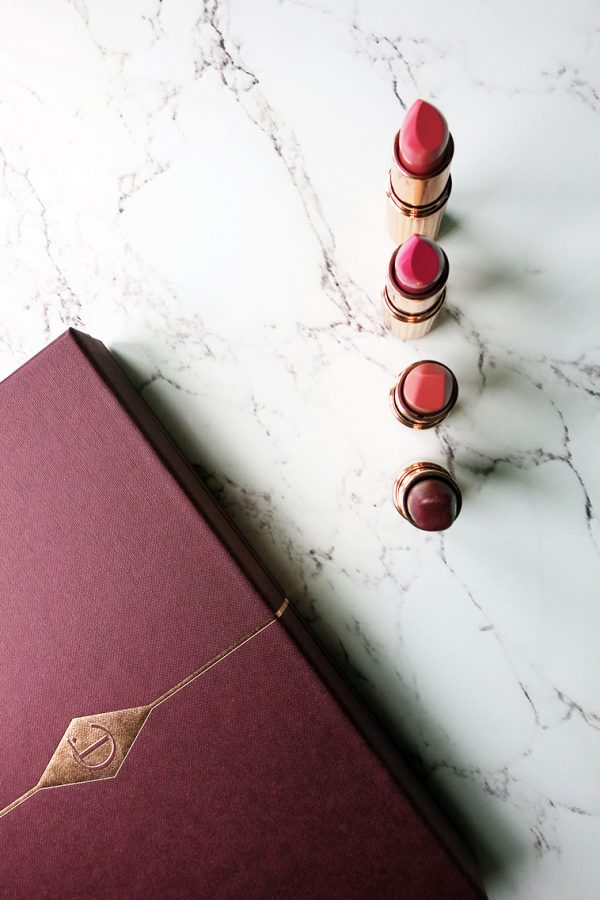 my Charlotte tilbury lipstick collection