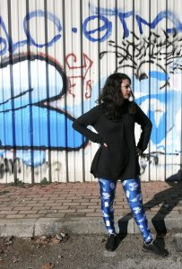 Meeko & Friends Black Milk Leggings