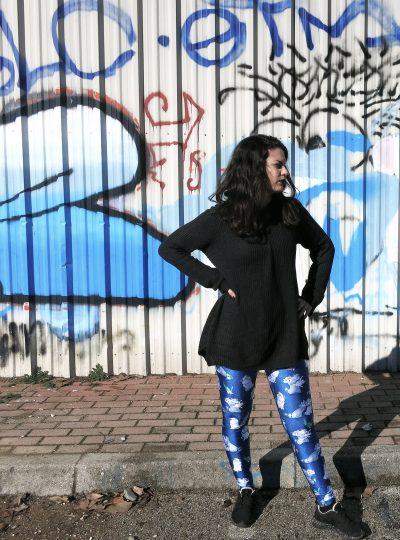 Black Milk Meeko & Friends Leggings Disney Pocahontas 35mm in style