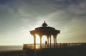 Brighton bandstand in 35mm