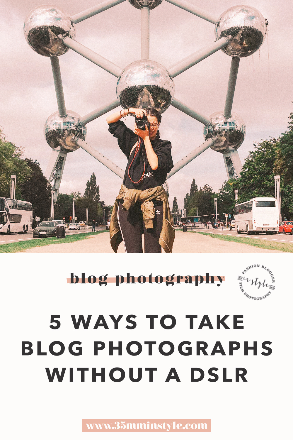 how to take blogging photographs without an expensive camera