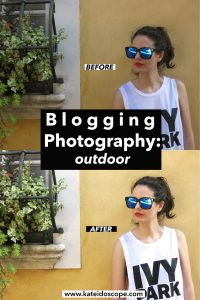 blogging photography outdoor