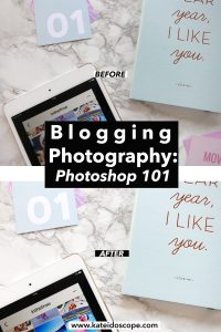 Blogging Photography: Photoshop 101