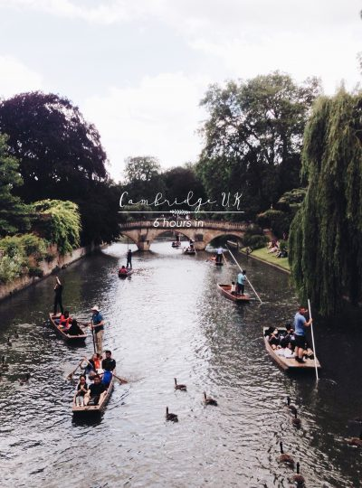 6 hours in Cambridge, UK 35mm in style