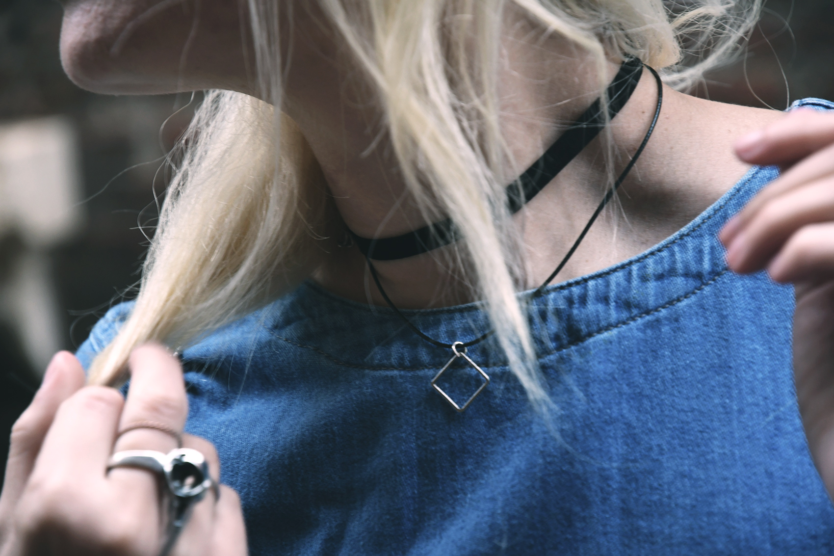 Zaful Geometric Choker