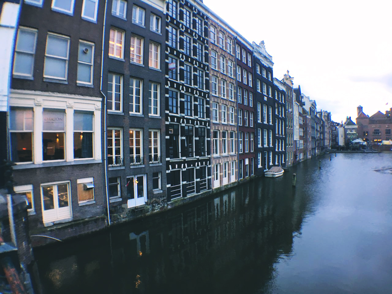 Amsterdam famous canals