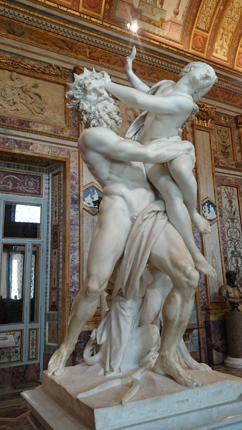 The Rape of Proserpine by Bernini