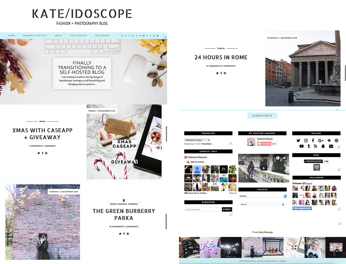 hello 35mm in style, goodbye kateidoscope: my transition from Blogger to WordPress
