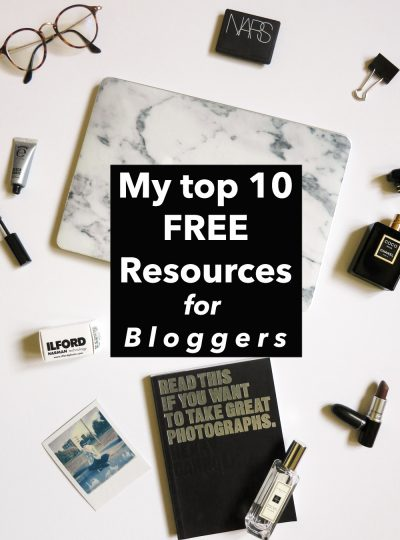 top 10 Free resources for blog