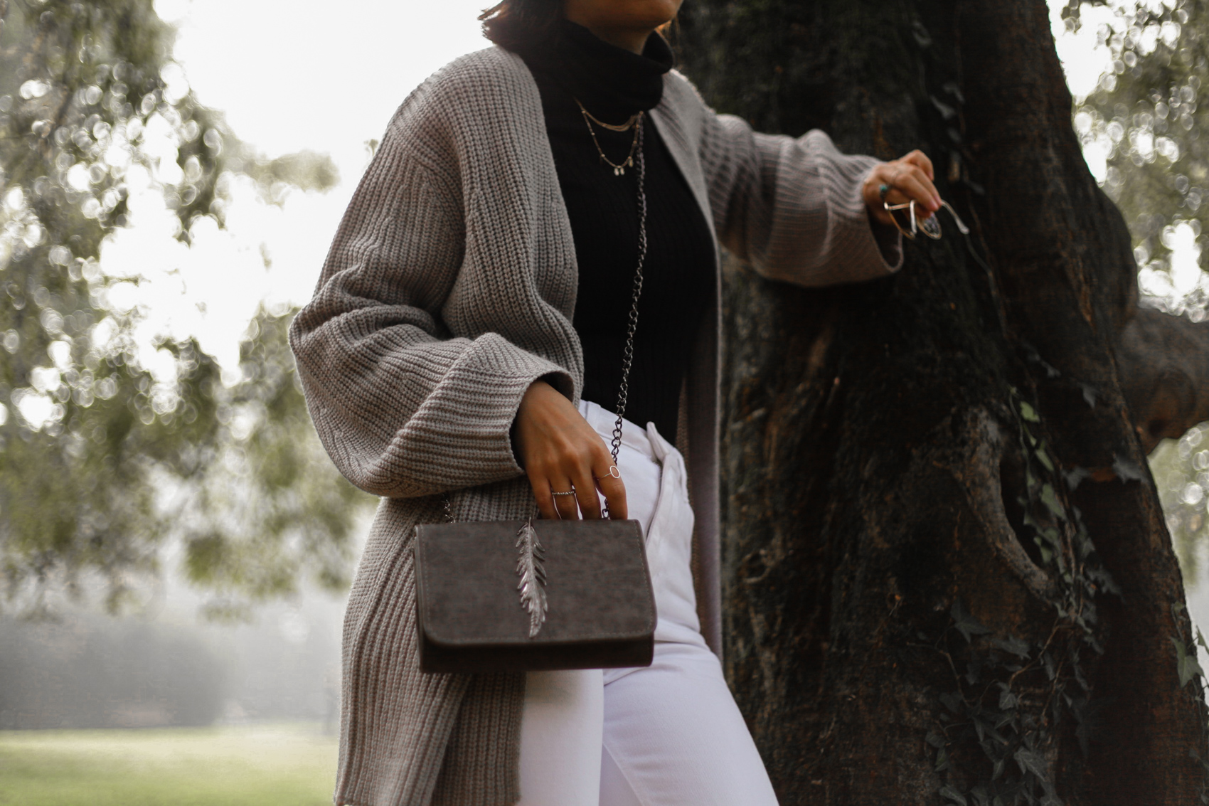 The Autumnal Purse in Grey 35mminstyle