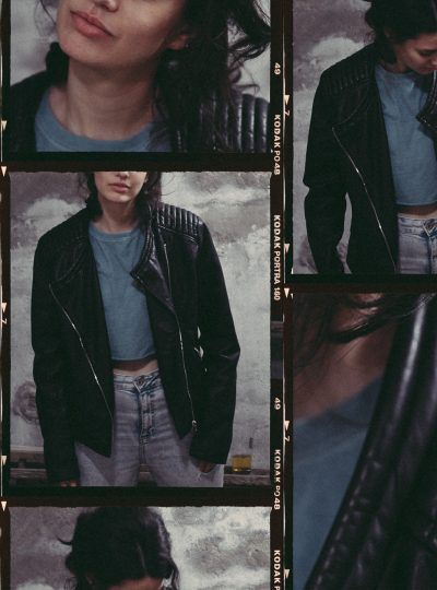 The Biker Jacket is still a Statement Piece