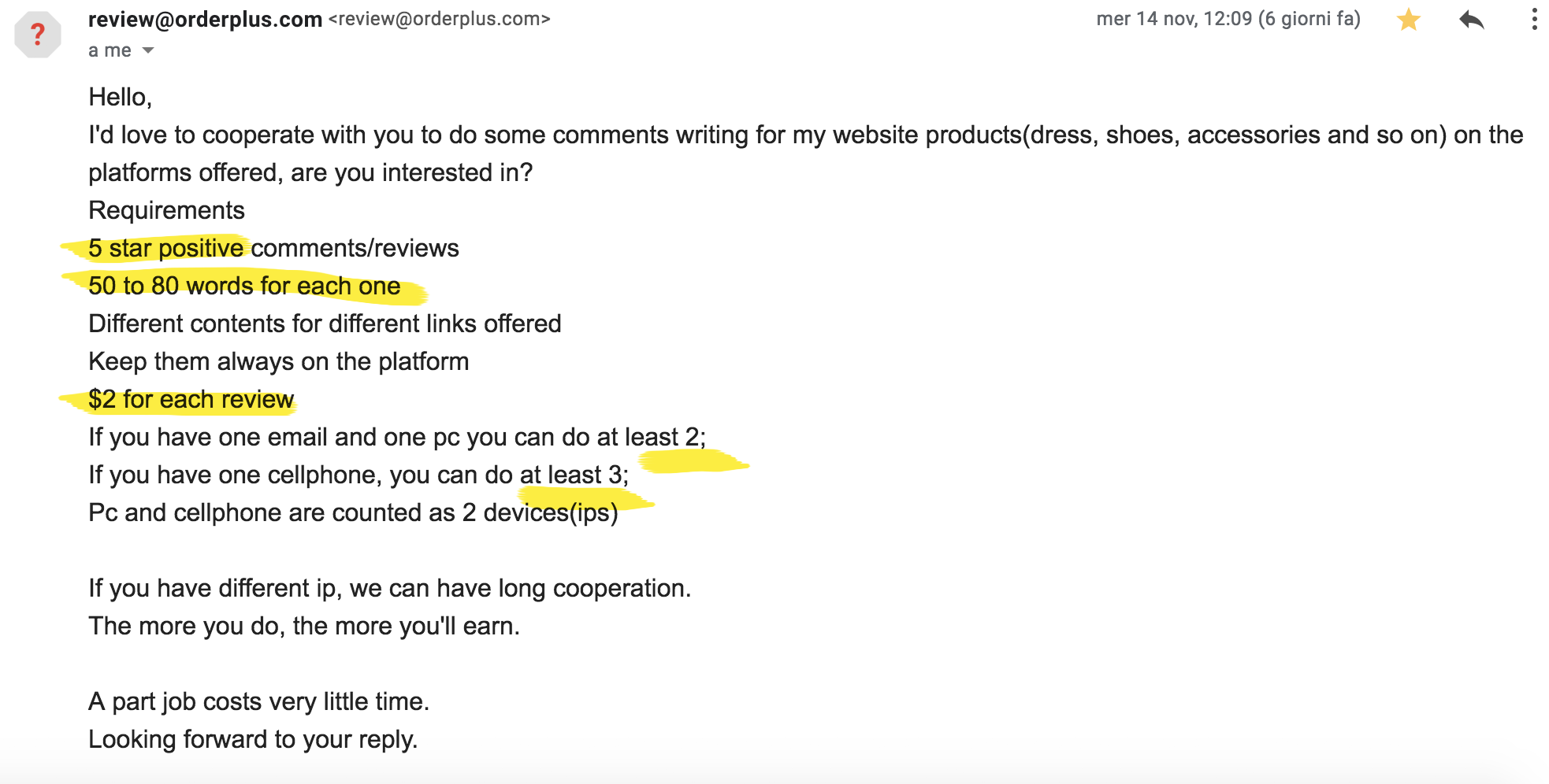 insane pr brand requests bloggers