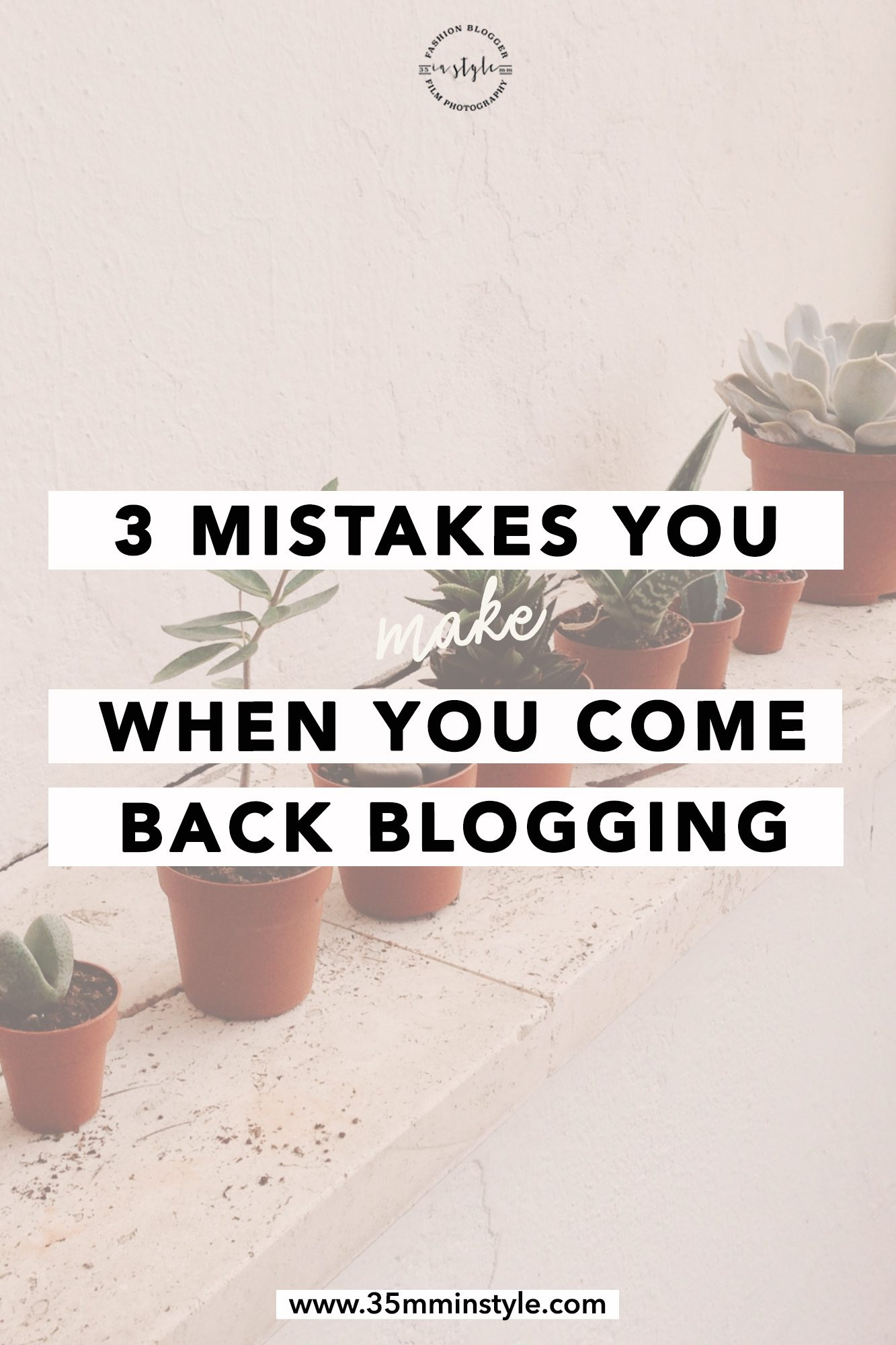 3 mistakes to avoid when you come back blogging tips to avoid making blogging mistakes