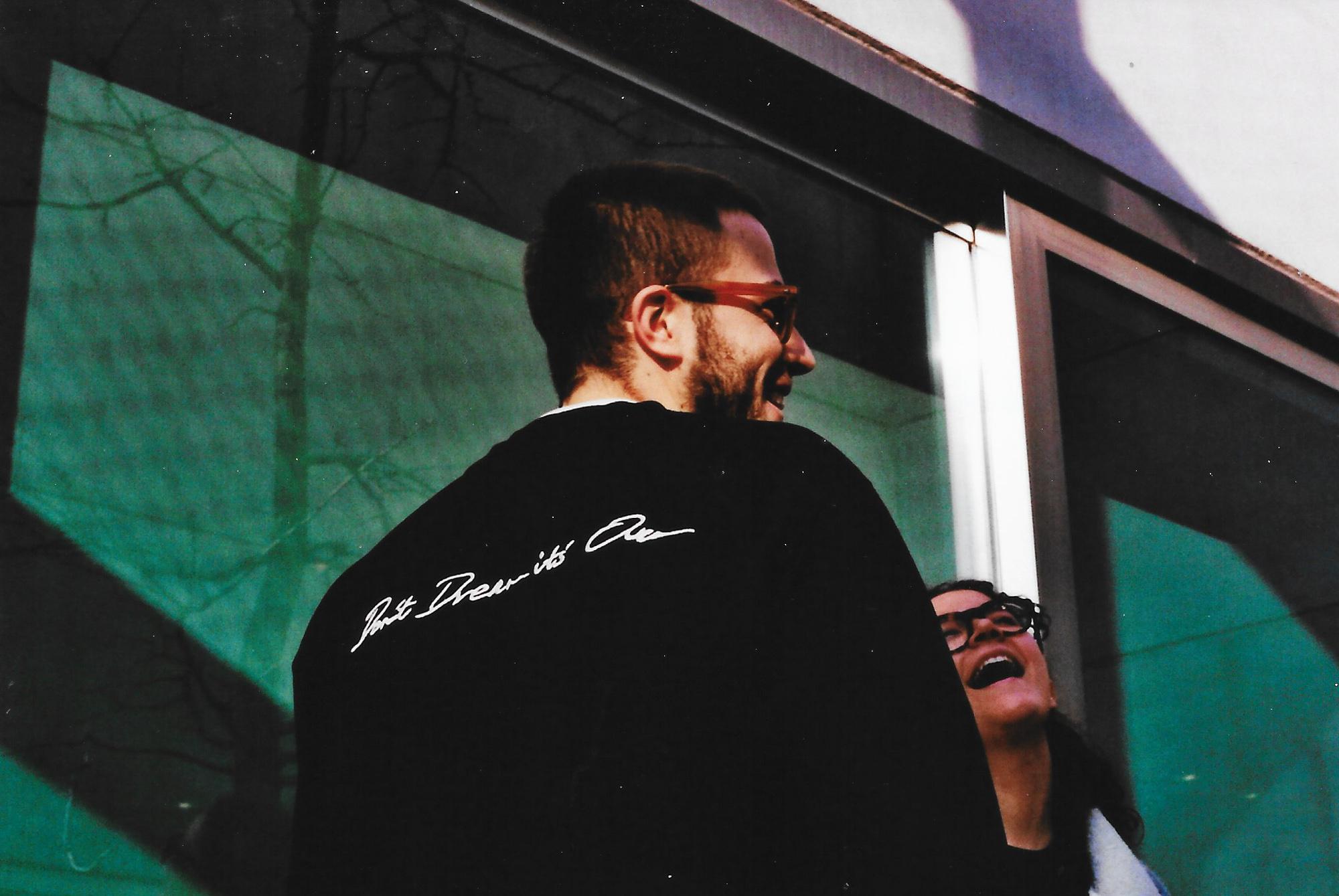 street style 032c sweatshirt slamjam