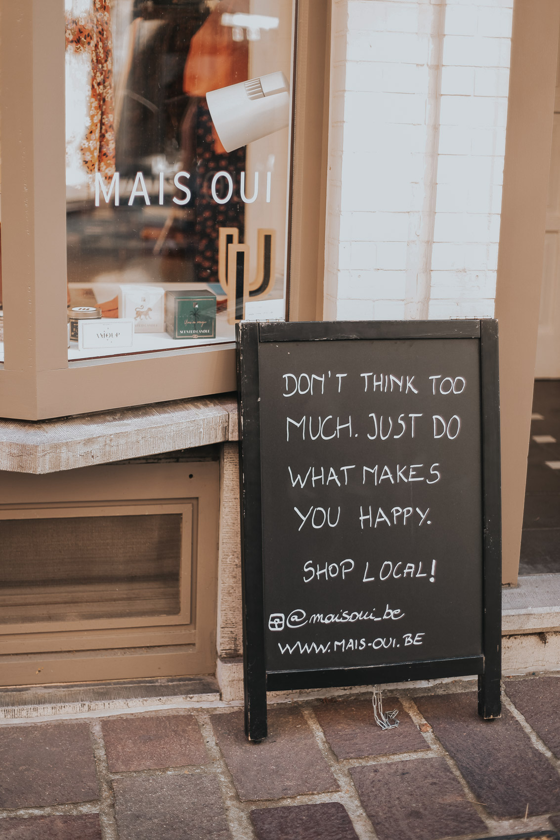 Mais Oui Clothing shop in Bruges