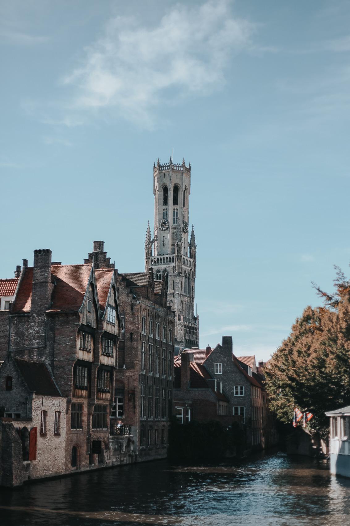 Canals of Bruges Belgium