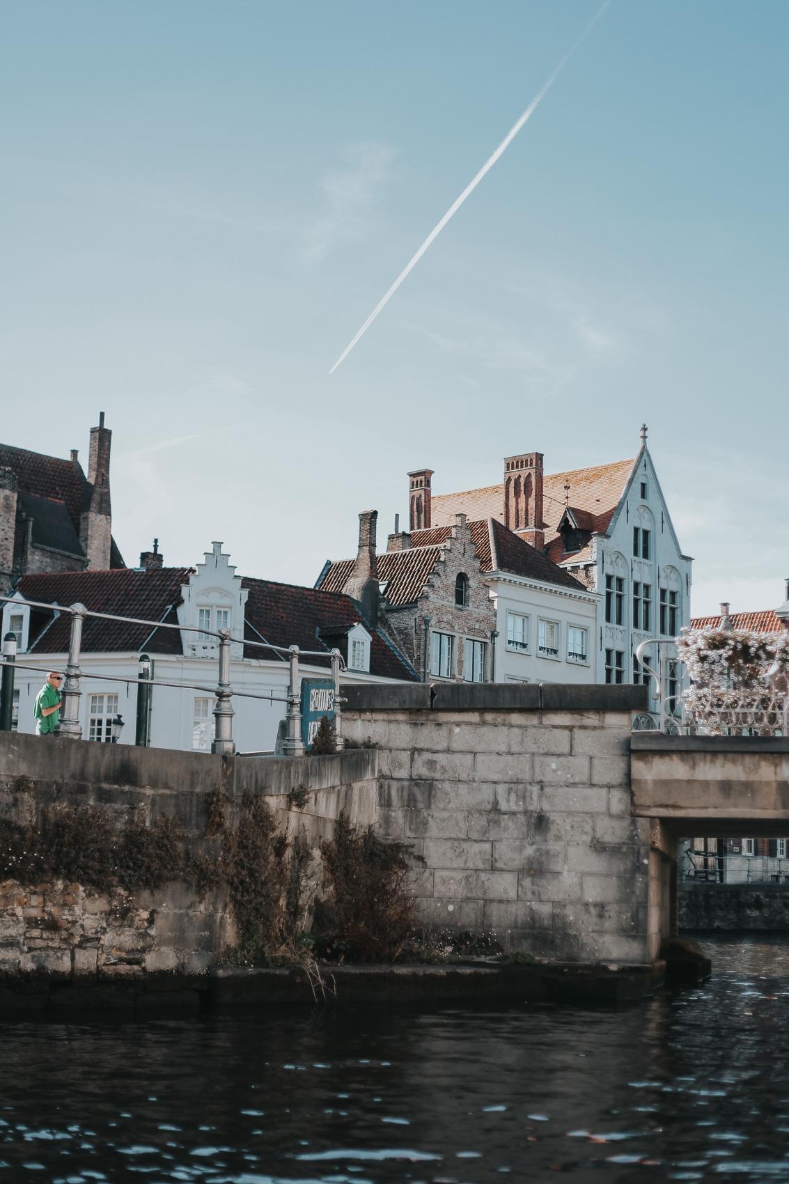 Canals in Bruges Belgium