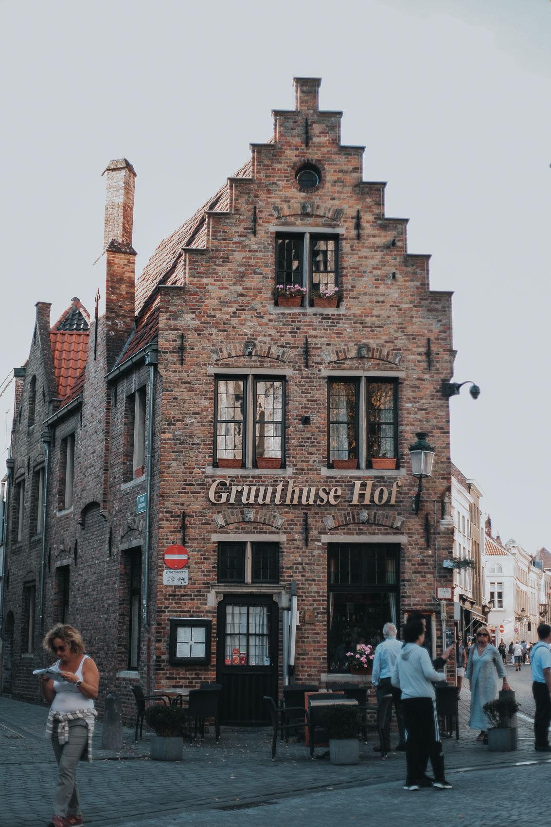 Architecture in Bruges Belgium