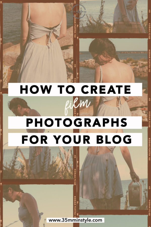 How to add film photographs to your blog