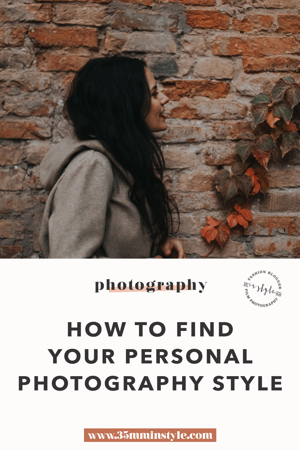 How to Find your personal style in photography + free photo upload checklist